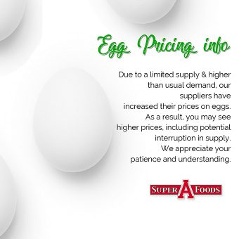 Egg Pricing Info