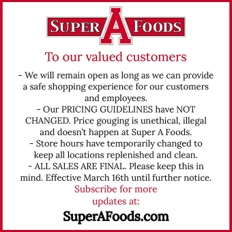 Notice to our valued customers