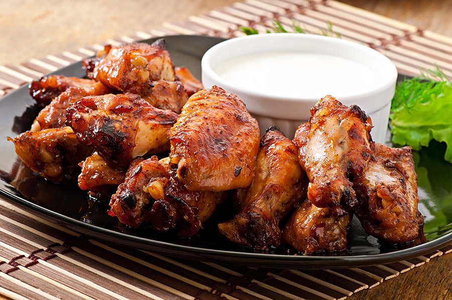 Photograph of Recipe Grilled Chicken Wings