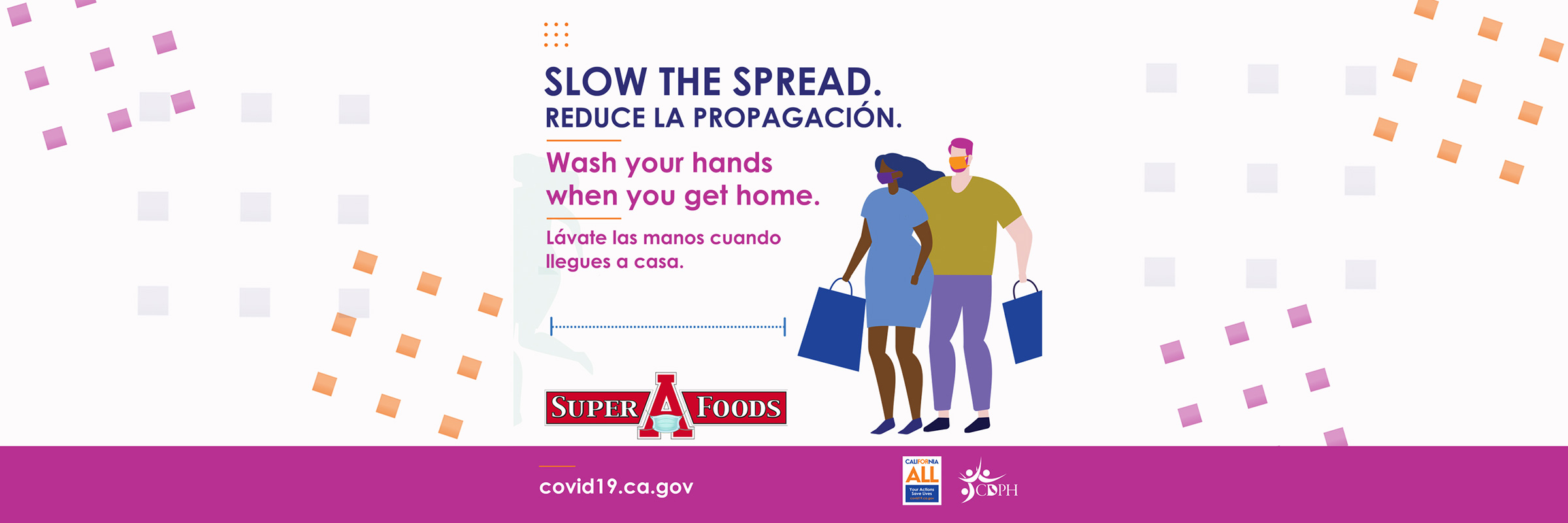 Slow The Spread By Washing Your Hands