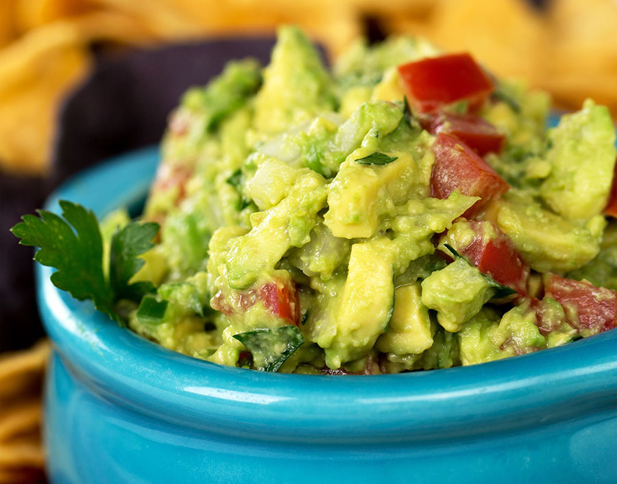 Photograph of guacamole