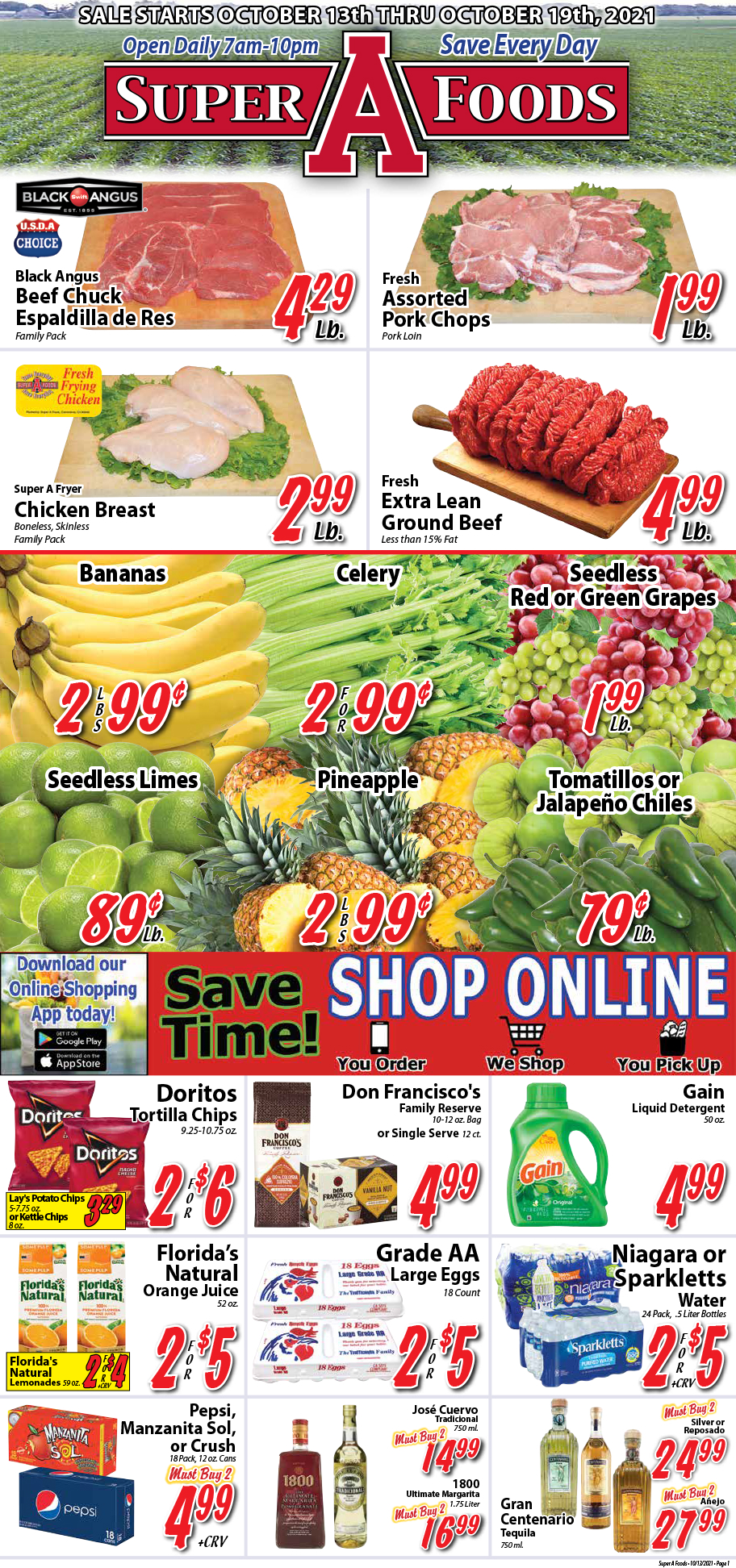 Weekly Ad for October 13 2021
